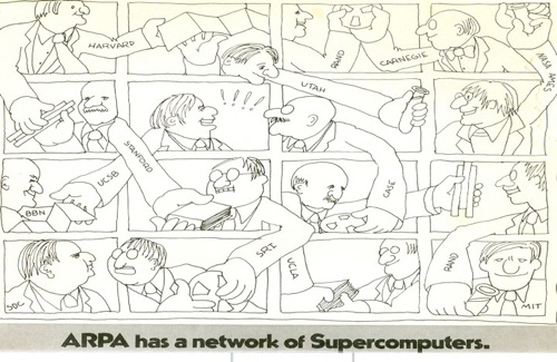 ARPA has a network of supercomputers