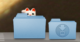 my dock when i booted up in leopard
