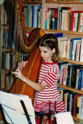 me and my harp.