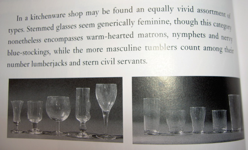 masculine and feminine glasses
