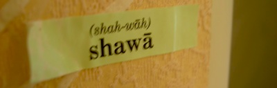shawa sticker